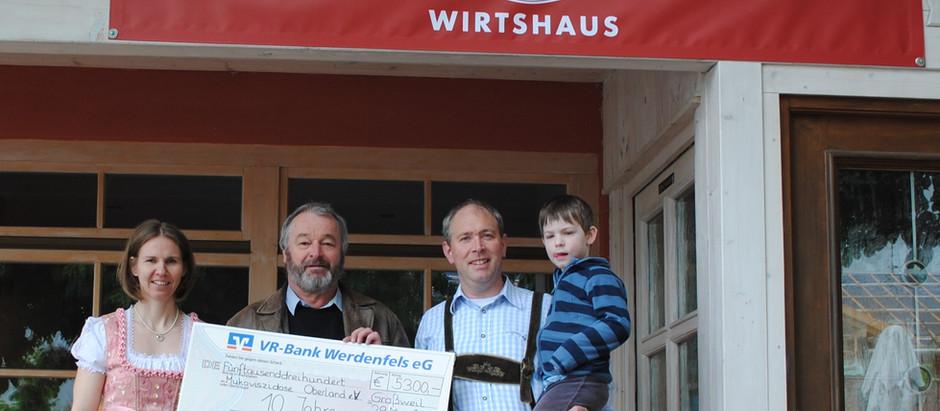 10 Jahre Fröhlichs Wirtshaus in Großweil