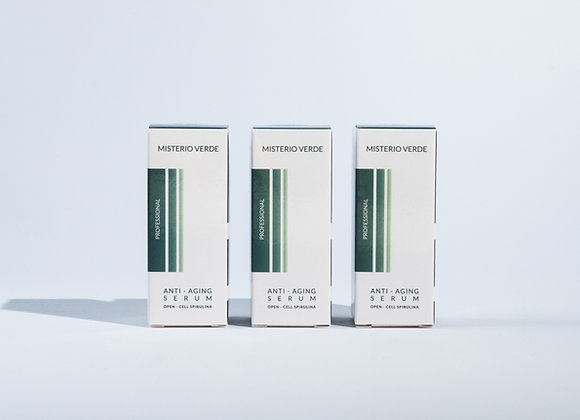 Anti - Aging Serum with Open Cell Spirulina x 3