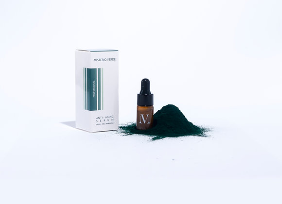 Anti - Aging Serum with Open Cell Spirulina