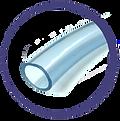 Foto de una manguera de la línea indazul, también conocidad como manguera de usos generales o de usos múltiples.
