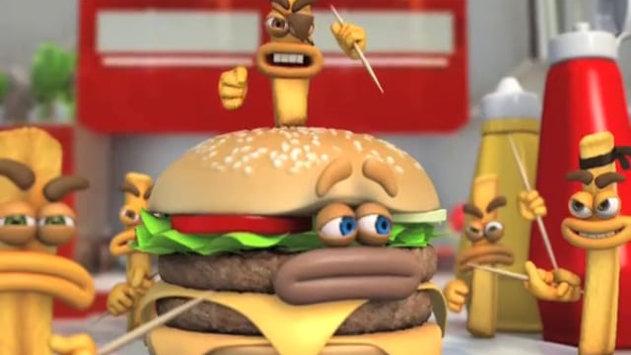 Coke & Food - Burger