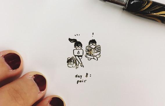 day 8: 'pair'
