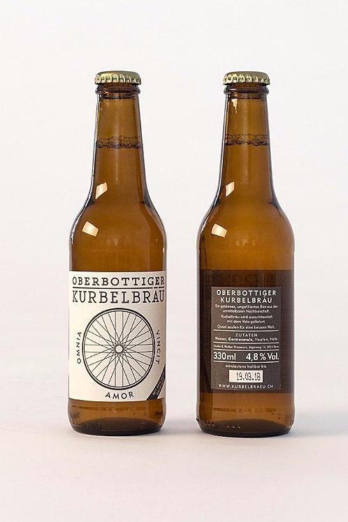 Oberbottiger Kurbelbräu - Karton 24 x 3dl Flasche, CHF 3.- pro Flasche