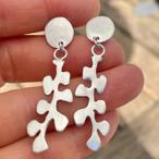 Sea frond earrings