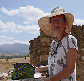 Lindsey Pearson Painting in Ronda