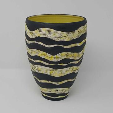 Strata Vessel-Stoneware