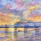 Brighton Piers Sunset