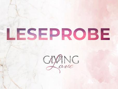 Leseprobe Giving Love