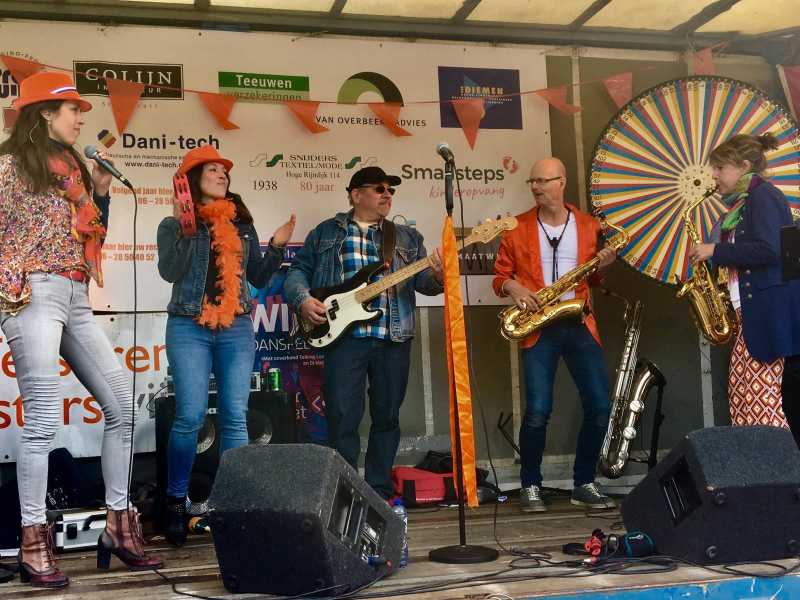 podium kingsday