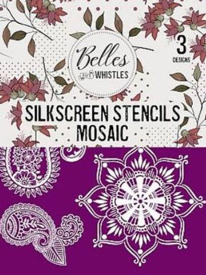 Mosaic Silk Screen Stencil