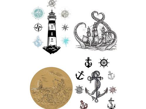 "Nautical Life 24"" x 28"" PRE-ORDER"