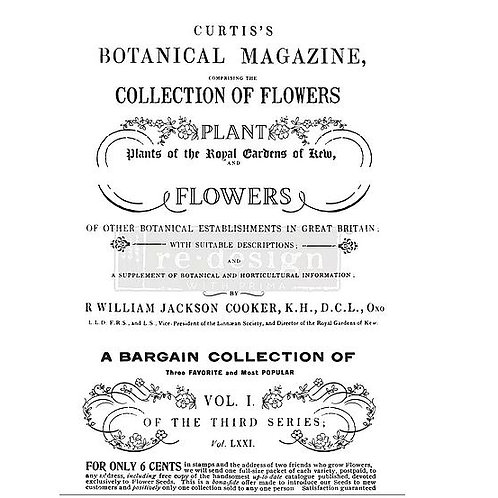 Botanical Magazine - Redesign with Prima Design