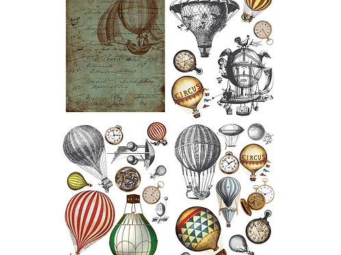 Hot Air Balloons & Clocks PRE-ORDER