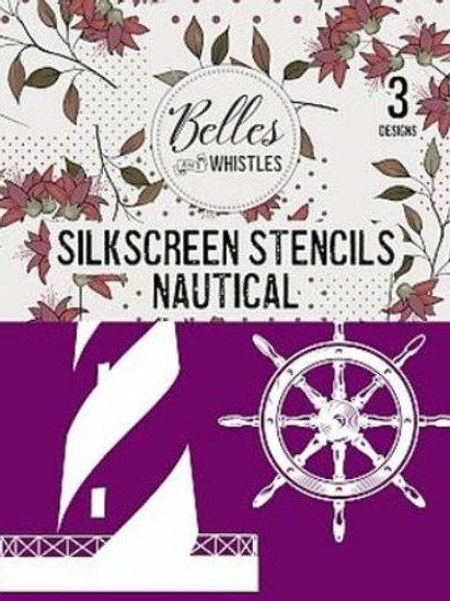 Nautical Silk Screen Stencil