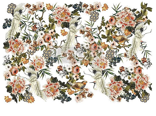 Elegance & Flowers - Redesign with Prima Transfer