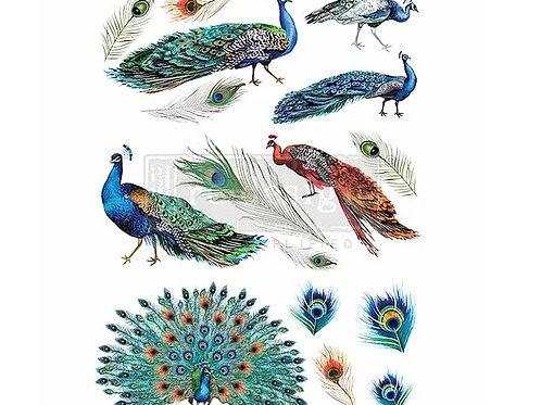 Peacock Dreams - Redesign with Prima Transfer