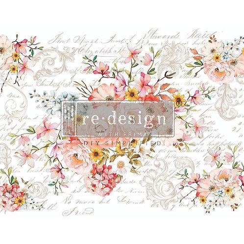 Rose Celebration - Redesign with Prima Transfer