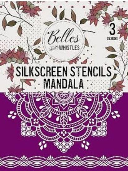 Mandala Silk Screen Stencil