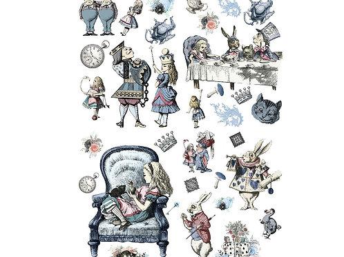 """Alice in Wonderland 24""""x 32"""" PRE-ORDER"""