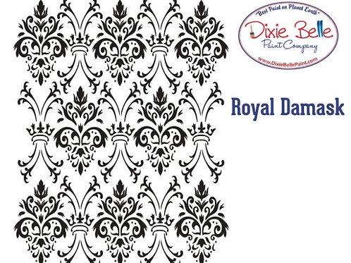 Royal Damask Stencil