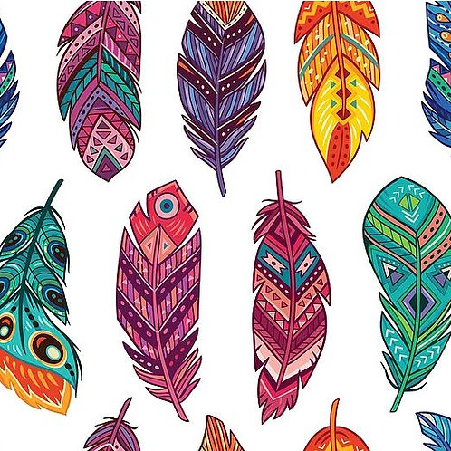 Feathers Decoupage Paper by Belles And Whistles