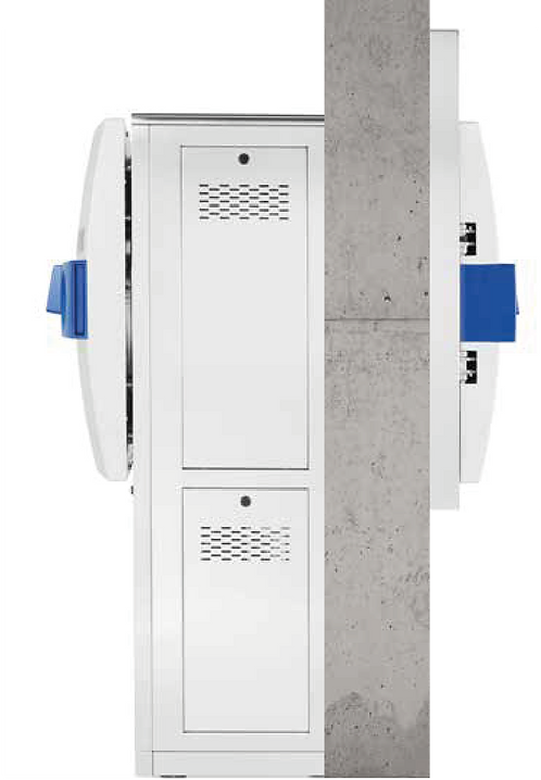 Double-Door Pass-through Autoclave / H-series / Systec