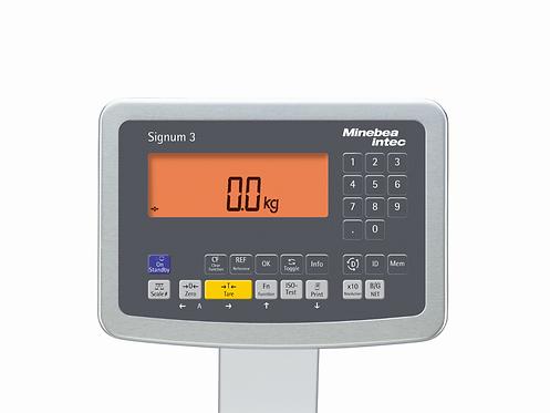 Weight indicator / Signum® 3 / Minebea Intec
