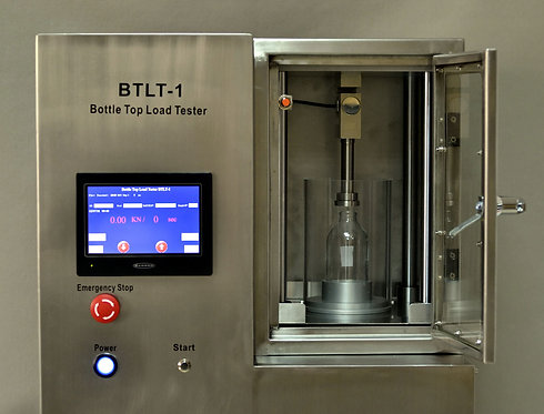 Glass Bottle Top Load Tester / BTLT- 1 /AT2E