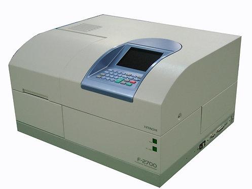 Fluorescence Spectrophotometer / F-2700 / Hitachi-VWR