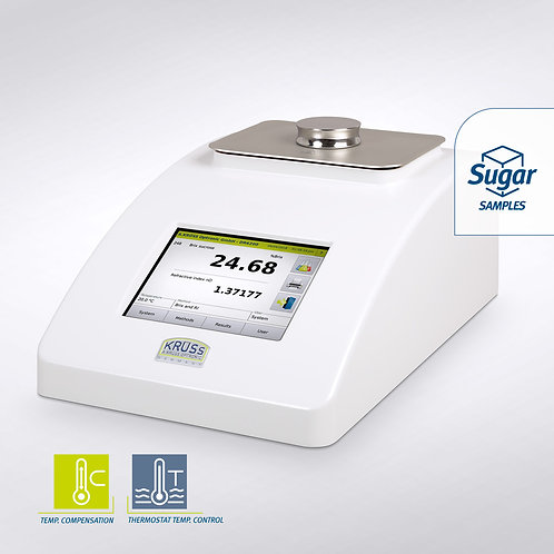 Digital refractometers without internal temperature control / Kruess