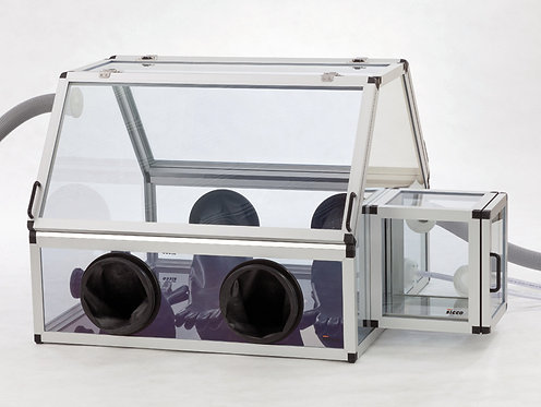 SICCO Handschuhbox Duo 2 mit Schleuse Antistatik, PC ESD / V1715-08 / SICCO