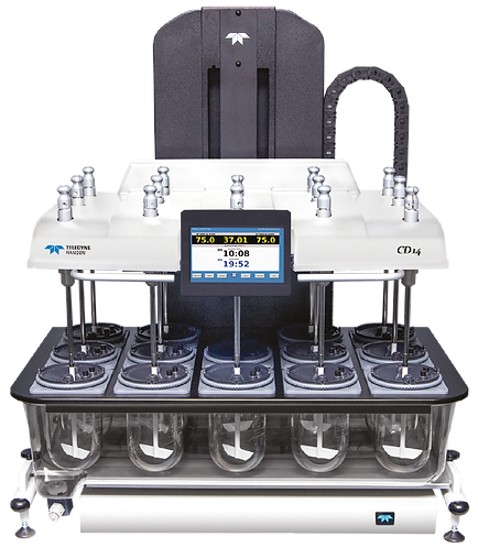14 Vessel Dissolution tester/ CD14 /Teledyne Hanson