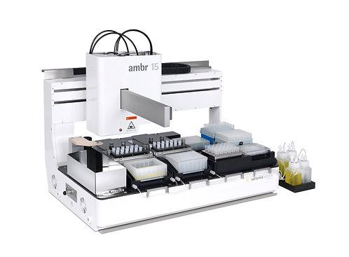 Multi-Parallel Bioreactors / ambr® 15 fermentation / Sartorius