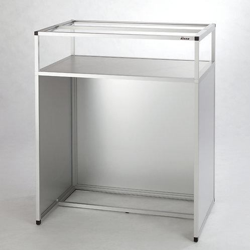SICCO Untergestell für Handschuhbox (Steharbeitsplatz), Alumi / V1962-02 / SICCO