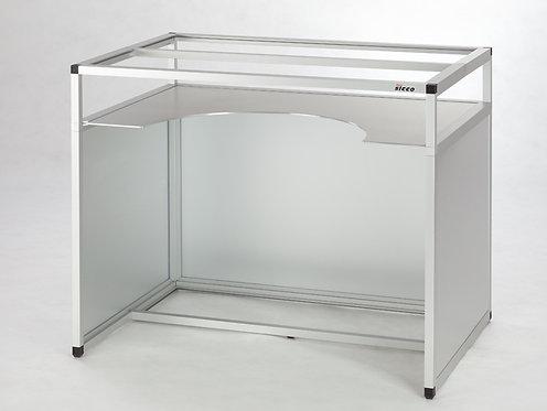 Untergestell für Handschuhbox, Aluminium / V1963-02 / SICCO