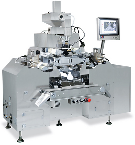 Standard soft capsule machine for R&D and small production / R-150 / Cube Gel