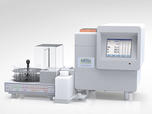 Flame photometer - Automatic unit without dilution / FP8600 / Kruess