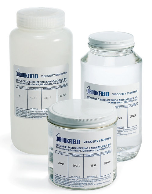 Viscosity Standards / High Temperature Silicone Fluids / Brookfield