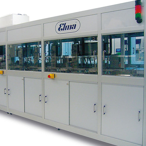 Ultrasonic cleaning lines / STC Robot Lines / Elma