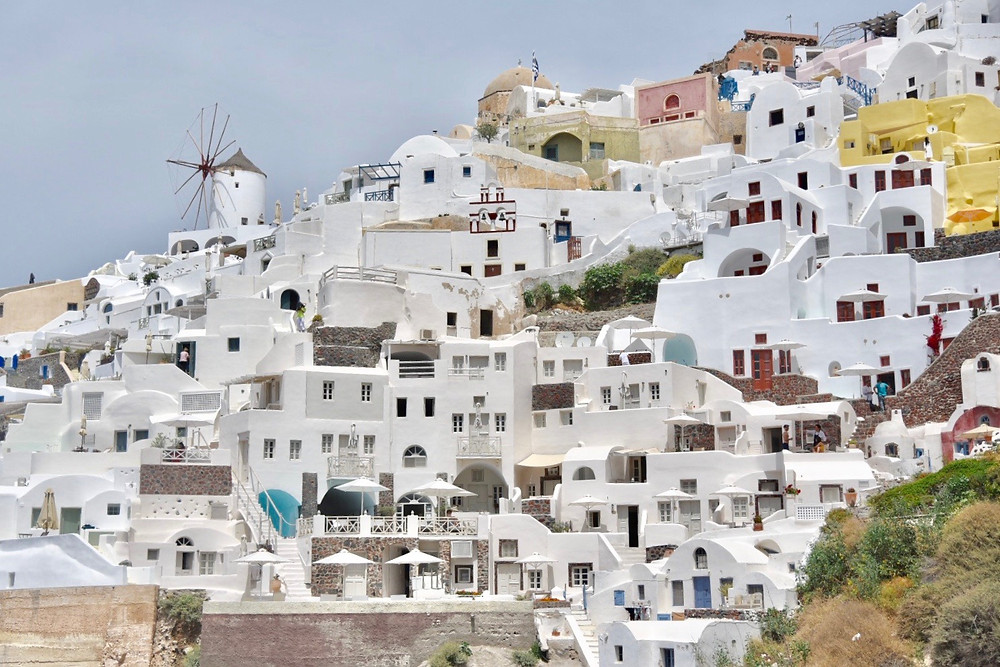 The beauty of Oia, Santorini
