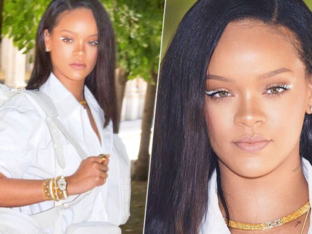 How To Pull Off The White Eyeliner Look Rihanna is Obsessed With