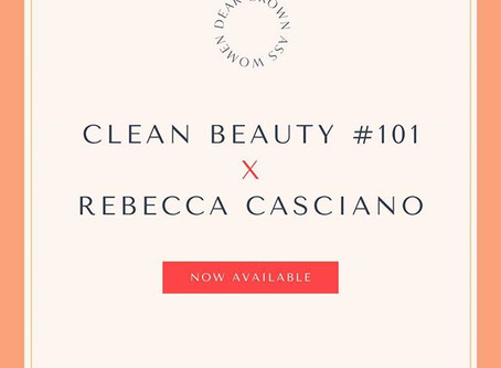 Clean Beauty 101 Masterclass