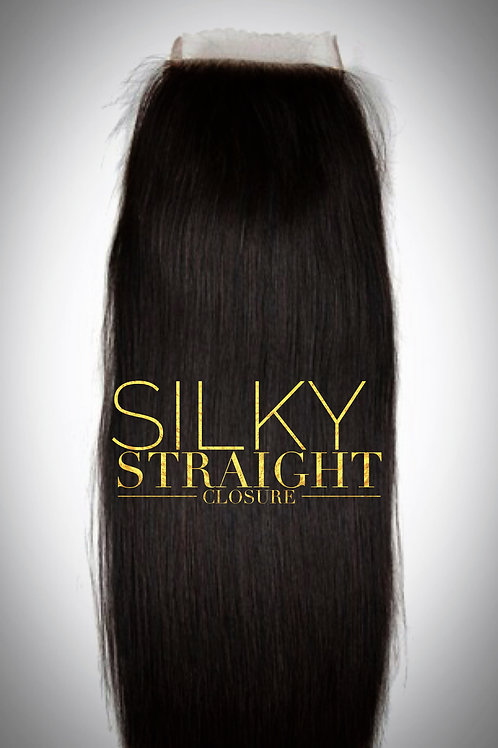 Brazillian Mink Silky Straight Closures