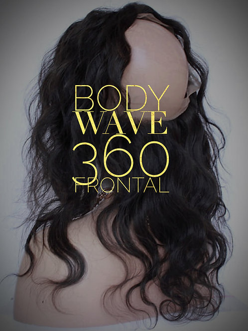 Brazilian Mink Body Wave 360 Frontal