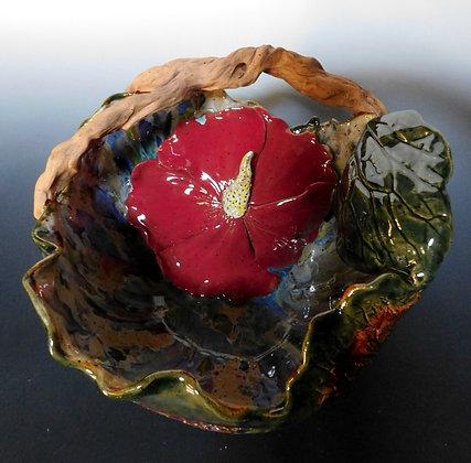 Hibiscus Basket