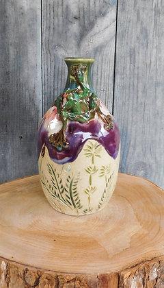 frog bottle/vase