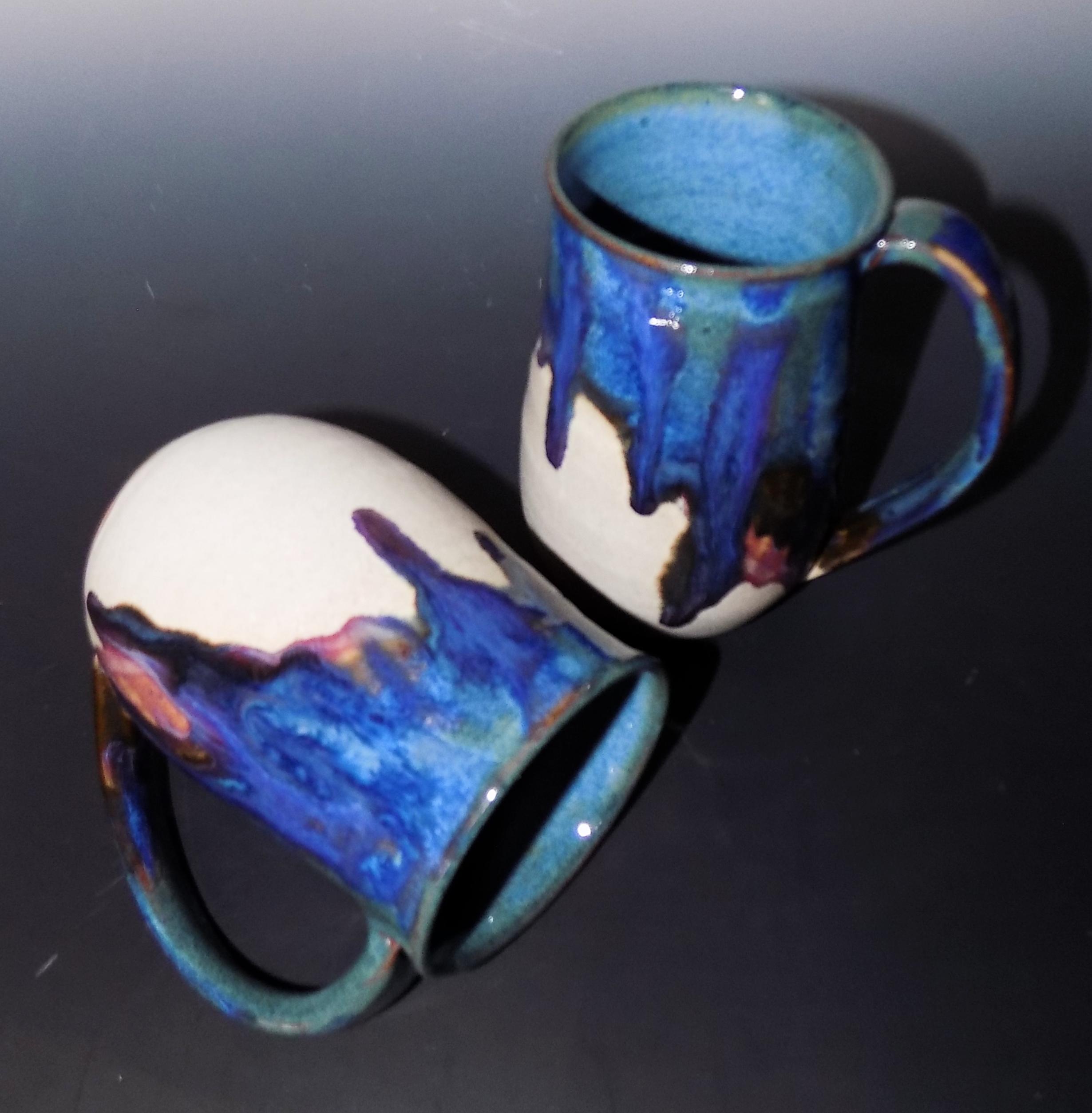 purple magic love mugs