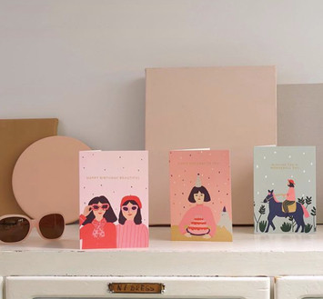 Greeting cards collection