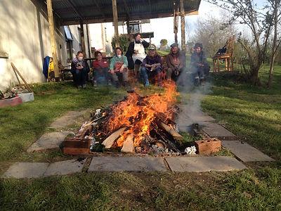 pit fire pottery