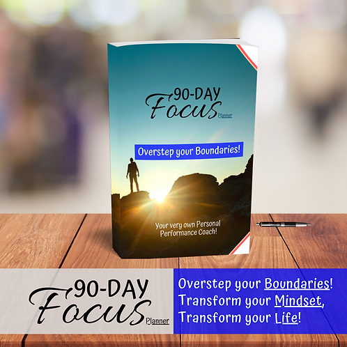 90-Day Focus planner & journal (2in1)